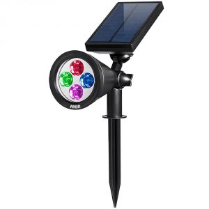 4-amir-led-solar-outdoor-spotlight-wall-light