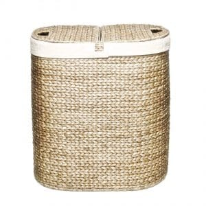 6-seville-classics-water-hyacinth-oval-double-hamper