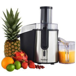 6-vonshef-professional-powerful-wide-mouth-whole-fruit-juicer