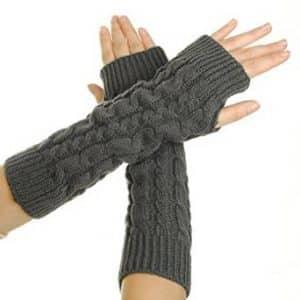 7-eforcase-womens-crochet-long-fingerless-gloves