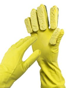 7-gloveasy-cleaning-glove-sponge-finger-scrub-scouring-pads