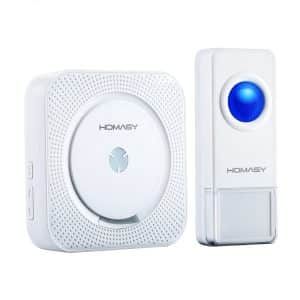 7-homasy-waterproof-push-button-wireless-doorbell
