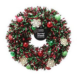 1-dyno-seasonal-solutions-sizzle-decorated-tinsel-wreath