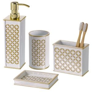 6-creative-scents-diamond-lattice-4-piece-bathroom-accessories-set
