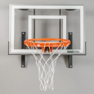 7. JustInTymeSports, Wall Mounted Mini Basketball Hoop