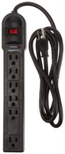 8-amazonbasics-6-outlet-surge-protector-power-strip