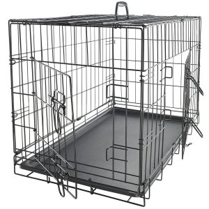 8-oxgord-folding-metal-pet-crate-with-double-door-and-divider