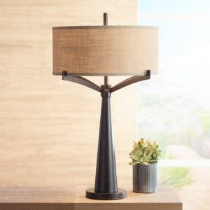 1-franklin-iron-works-tremont-bronze-iron-table-lamp