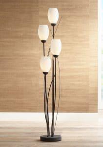 1-franklin-iron-works-white-glass-tulip-4-light-floor-lamp