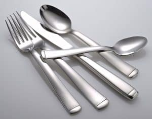 1. Liberty Tabletop, Lexington Flatware Set