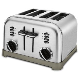 8-cuisinart-cpt-180-metal-classic-4-slice-toaster