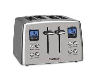 9-cuisinart-cpt-435-4-slice-stainless-steel-toaster
