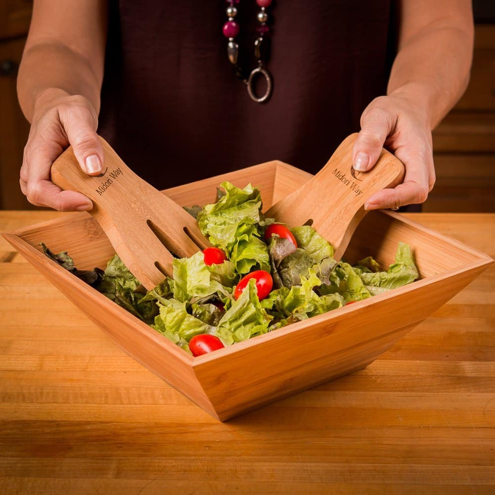 Famous Top 10 Best Salad Bowls in 2018 - TopReviewProducts LG29