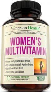 Top 10 Best Multivitamins For Women In 2018