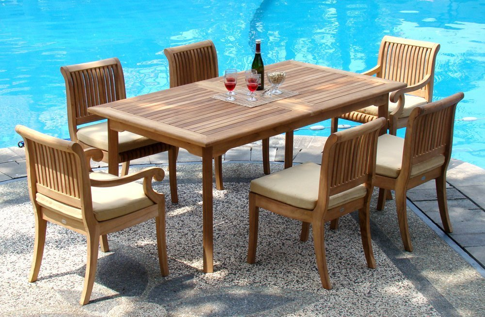 Top 10 best outdoor dining sets in 2018 topreviewproducts for Outdoor dining sets for 10