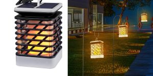 Top 10 Best Solar Garden Torch Lights in 2019