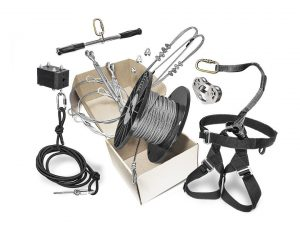 1. Zip Line Gear, 500' Rogue Classic Zip Line Kit