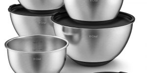 X-Chef, Stainless Steel Mixing Bowls Set