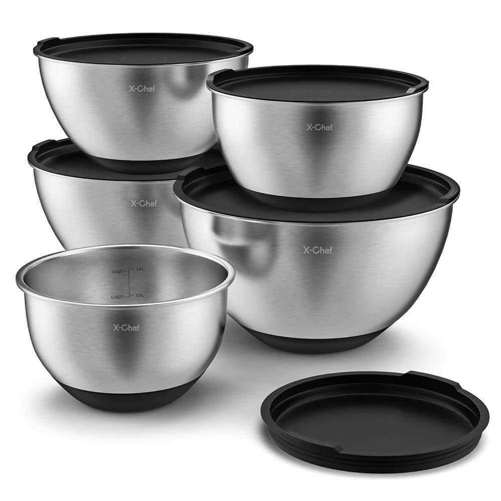 Top 10 Best Stainless Steel Mixing Bowl Sets in 2018 - TopReviewProducts