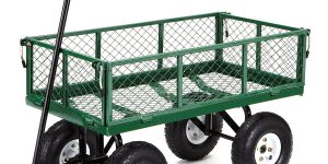 Top 10 Best Garden Carts in 2018