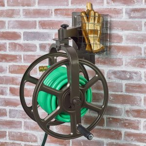 Liberty Garden Products, 712 Single Arm Navigator Multi Directional Garden  Hose Reel