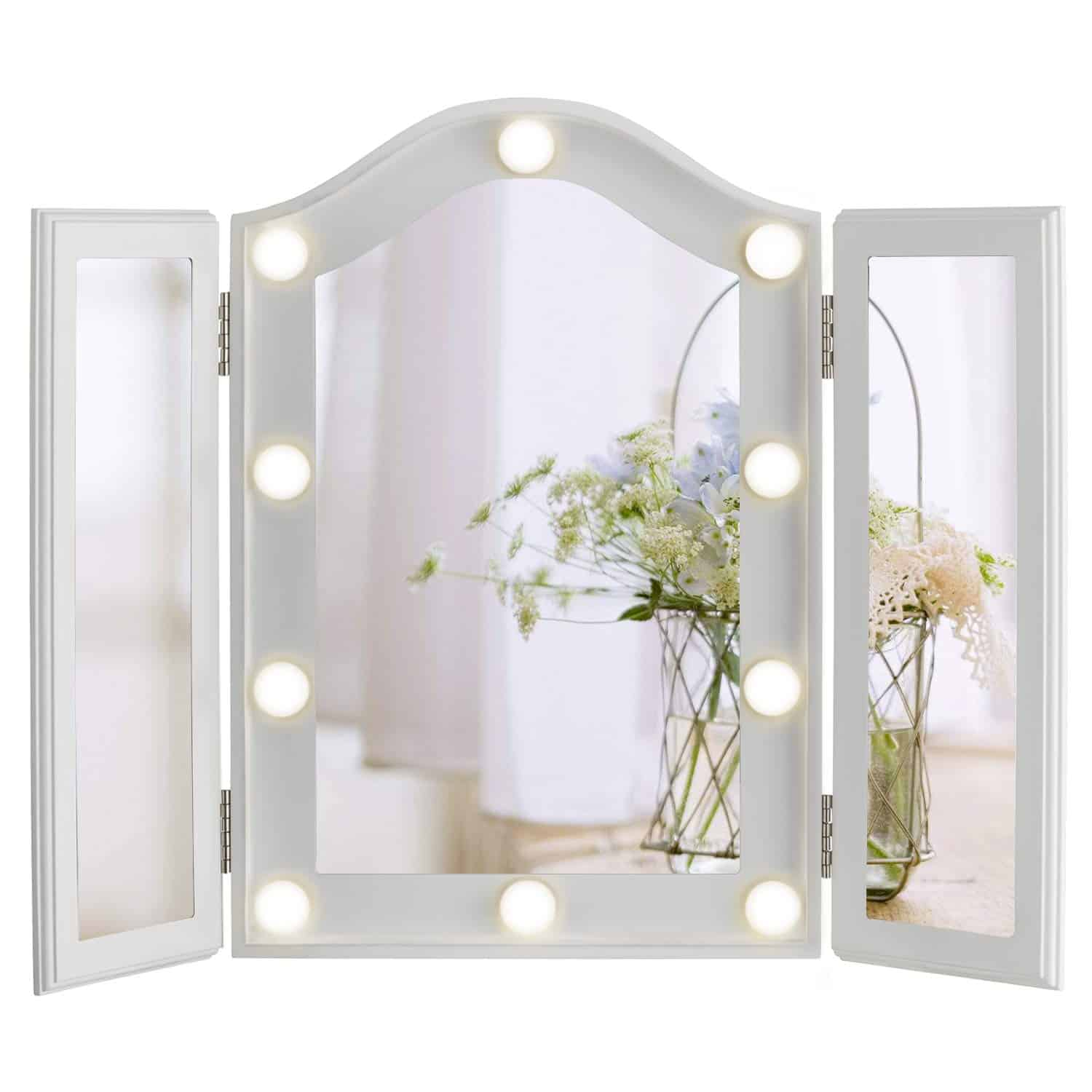 Top 10 Best Led Lighted Vanity Mirrors In 2021 Topreviewproducts