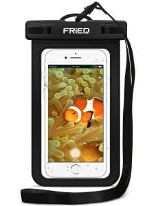 2. FRiEQ, Universal Waterproof Case for Outdoor Activities