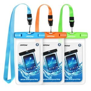 Mpow, Universal IPX8 Waterproof Phone Pouch
