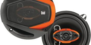 Dual Electronics, DLS6540 4-Way Car Speakers